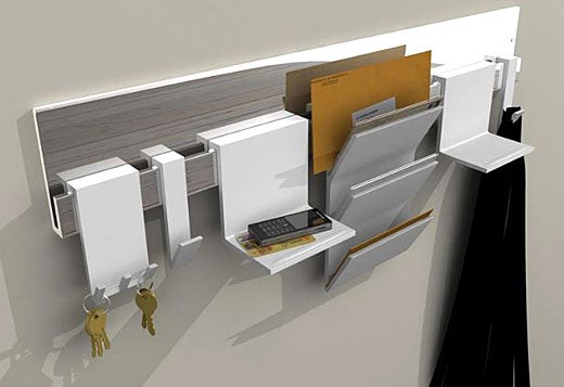 Front Door Storage, Convenience for the Forgetful