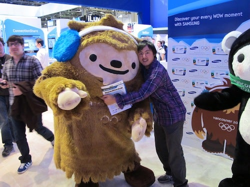 Happy Moments at CES
