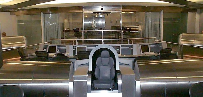 NSA Honcho built Enterprise bridge replica to sell Congress on spying