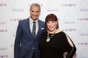 Jay Manuel Pretends to Eat a Mini Cupcake at Lane Bryant Opening