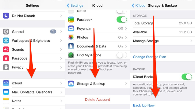 Reminder: Back Up Your Stuff Before iOS 8 Drops Tomorrow