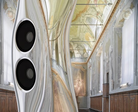 KEF Muon Speakers: Mysterious, Tall, Handsome