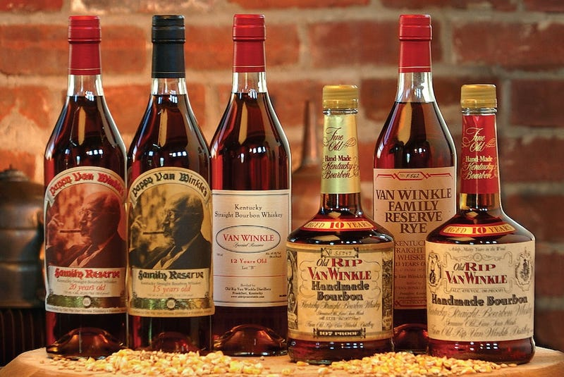 Someone Stole $26,000 of the Best Bourbon in the World