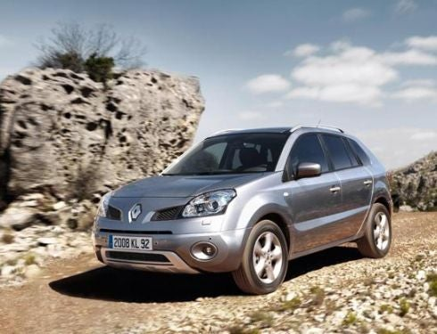 2009 Renault Koleos Makers First Crossover Offering