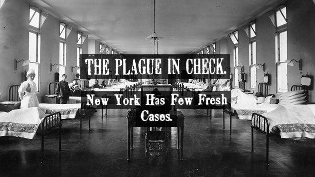 The Way We Used to Quarantine in New York