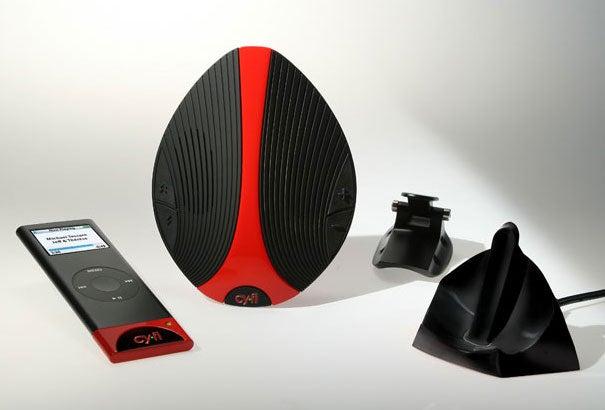 Cy.Fi Speaker, a Wireless iPod Dock for Your Bike