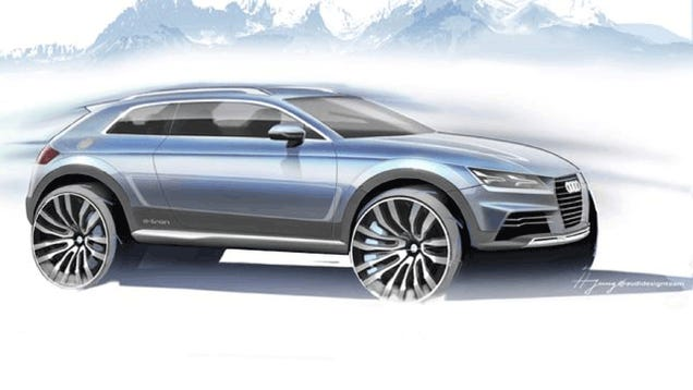 Why This Crossover Might Actually Be The 2015 Audi TT In Disguise