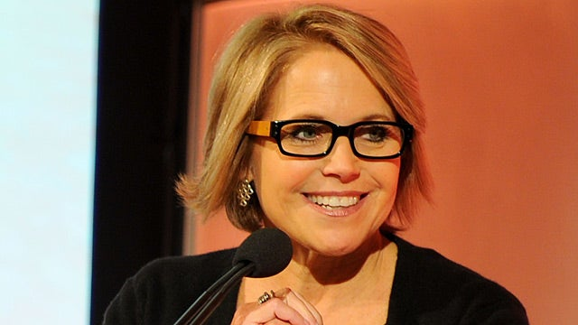 Katie Couric Offered Pay Cut to Stay at Crappy Job