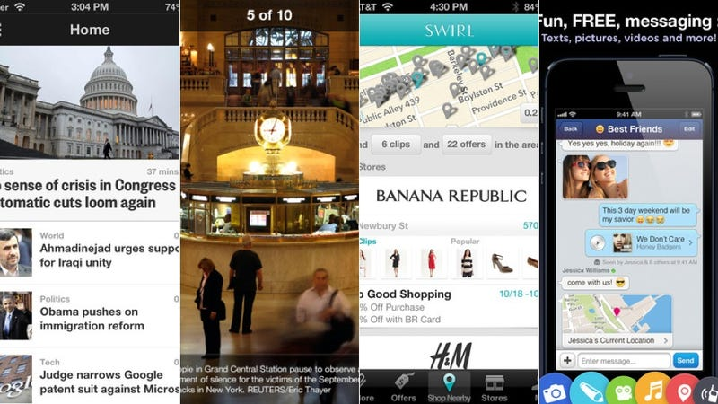 MessageMe, Reuters, and More