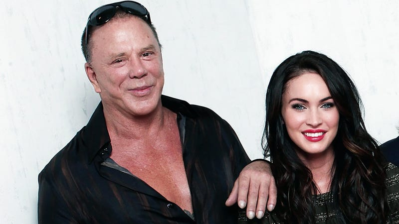 Mickey Rourke Changes His Mind: Megan Fox Not a Good Actress, After All