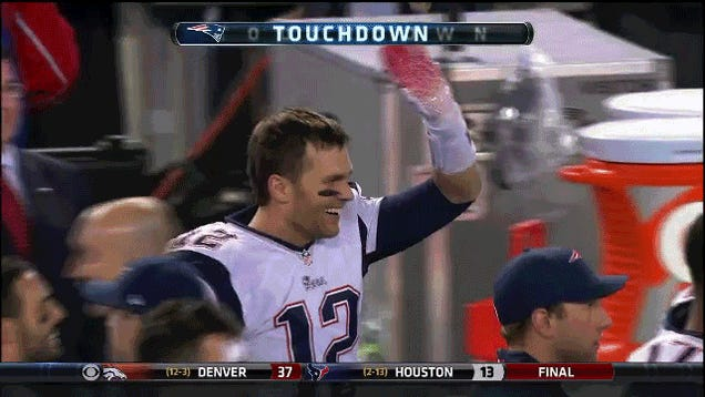 Tom Brady, Left Hanging Forever And Ever