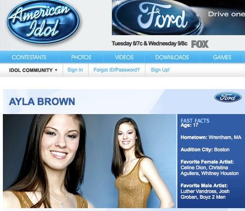 Republican Savior Scott Brown Now Pimping Daughter to American Idol