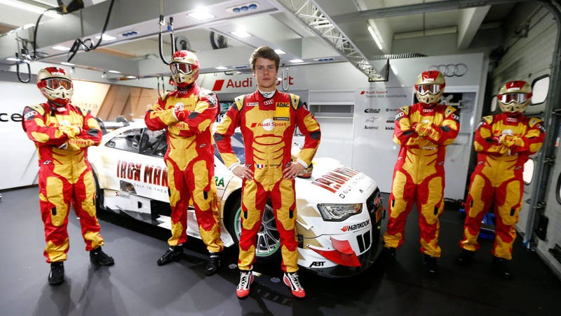 This Audi Racing Team Dressed Up As Iron Man For Best Tie-In Ever
