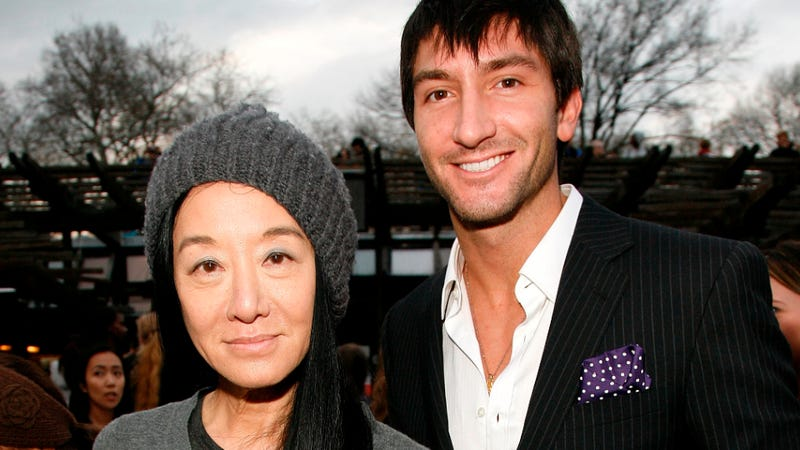 Vera Wang and Evan Lysacek Are Allegedly Living in Sin