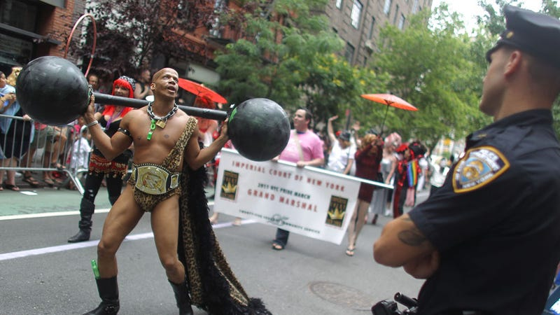 Everything You Missed from New York's Celebratory Gay Pride Parade