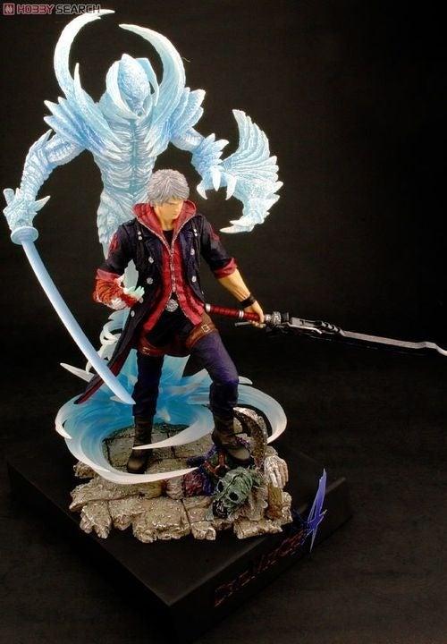 Nero Figure Has A Devil On His Shoulder