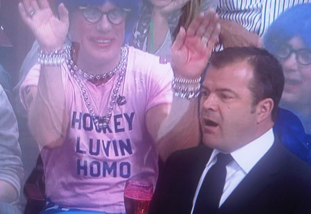"It Took A Self-Proclaimed ""Hockey Luvin Homo"" To Make A Canucks-Kings Game Noteworthy"