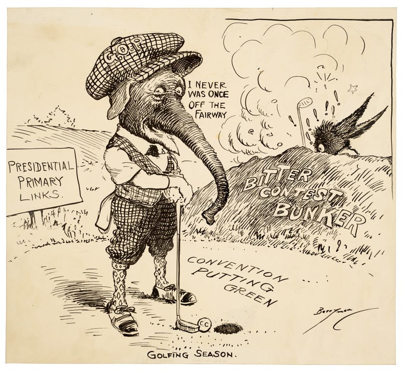 A Brief History Of Sports In Political Cartoons
