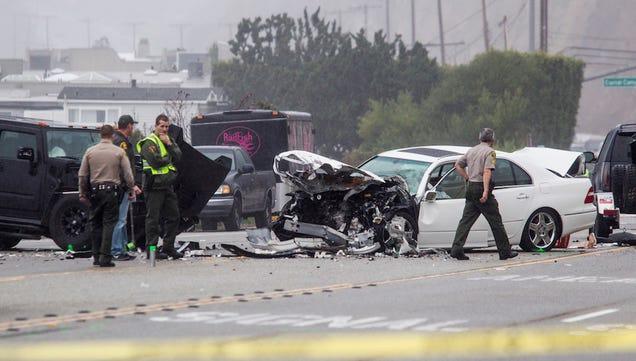 report cars on crash