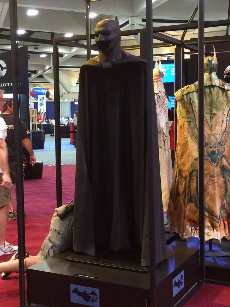 Batfleck's Bat-Cowl From Batman V. Superman: Dawn Of Justice Revealed