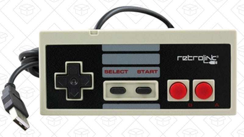 This $10 USB Controller Is Dripping With Nintendo Nostalgia