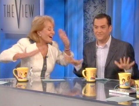 Elisabeth Hasselbeck Threatens To Flash Barbara Walters