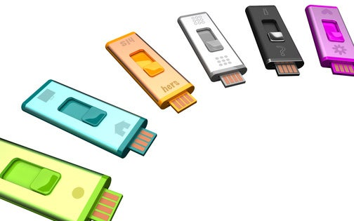 Split Stick Double-Headed USB Drives Separate Your Work and Personal Lives