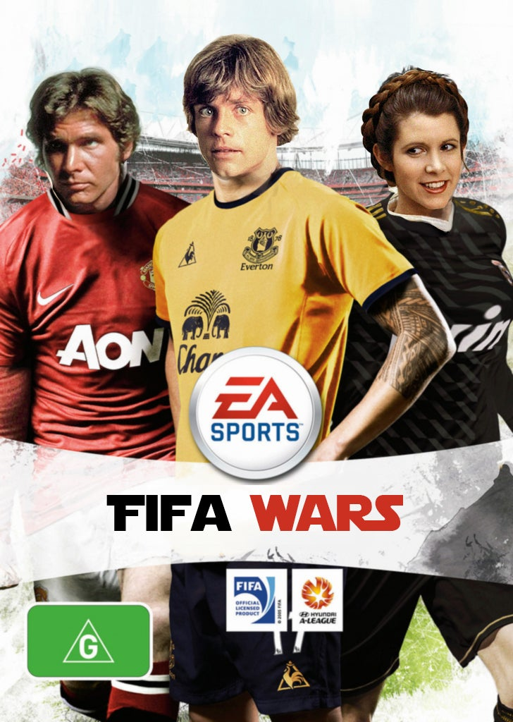 EA Meets Star Wars... With the Help of Some Photoshop