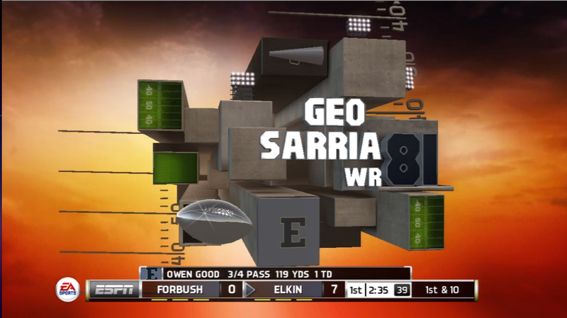 High School in NCAA Football 14 is Video Gaming's Coolest Credit Roll