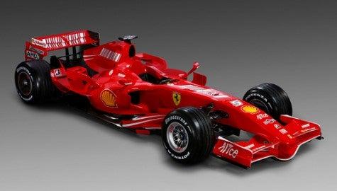 Scuderia Scooter: Ferrari Launches 2007 F1 Car