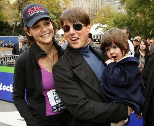 REPORT: Tom Cruise Drops $30K On Suri's Custom Indy Car