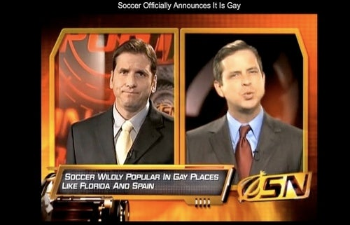 Yes, Soccer Is Gay