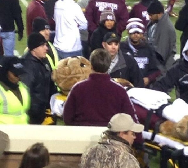 Why Is A Mascot Getting Hurt Funny?