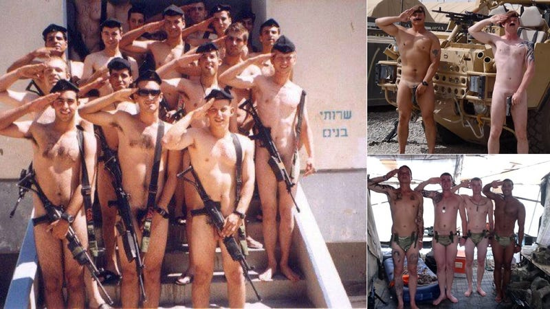 Military Personnel Around the Globe Giving Prince Harry a Naked Salute