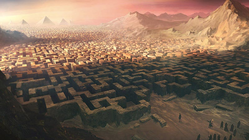 It was a labyrinth that spanned worlds