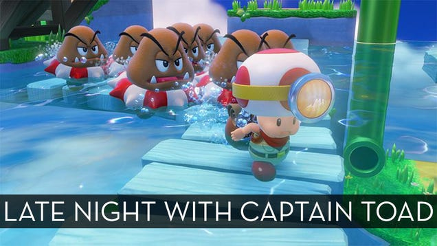 The Up All Night Stream Plays Captain Toad [Game Complete!]