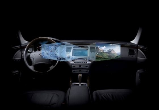 Hyundai Dual-View Display Lets Driver, Passenger See Different