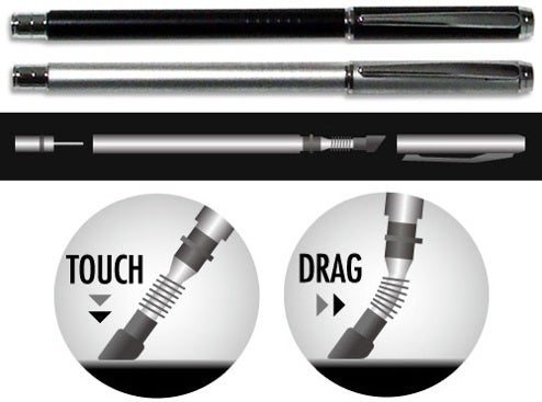 Brightonnet iPhone Stylus has Bendy Tip for Better Dragging Action