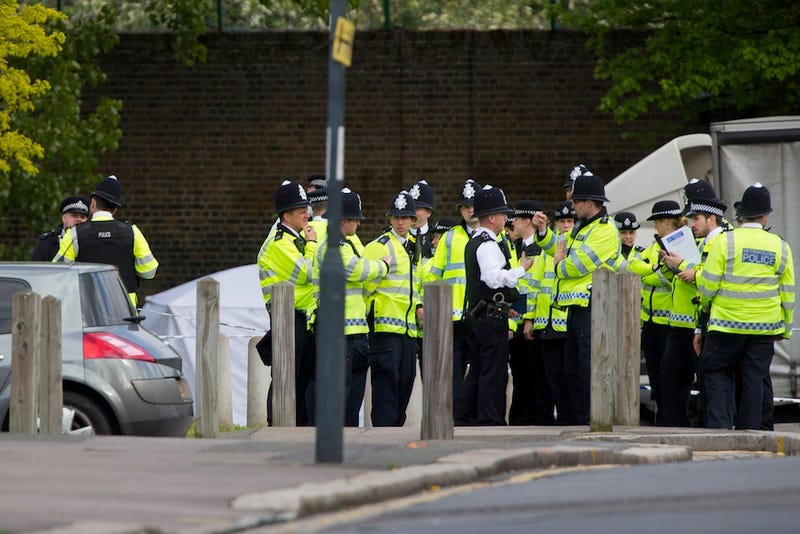 London Soldier Hacked To Death By Machete-Wielding Terrorists