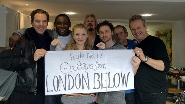 James McAvoy and Benedict Cumberbatch join Neil Gaiman's Neverwhere