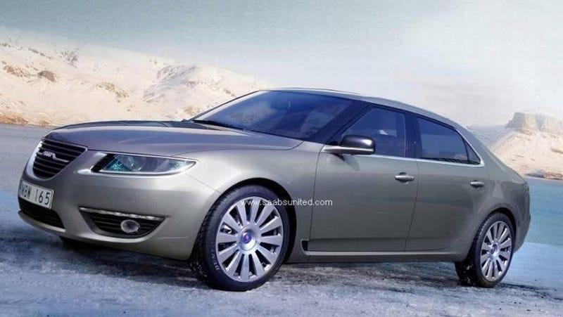 2010 Saab 9-5 Renderings Sneak Out... Oops