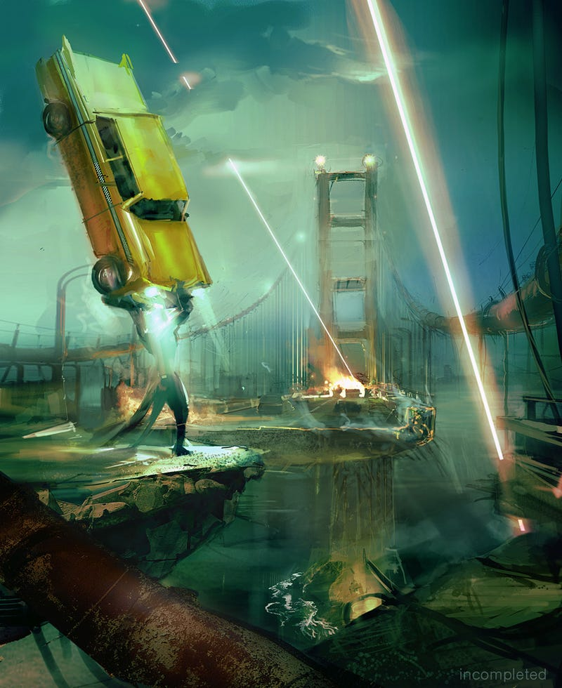 The Game May Be Dead, But the Awesome Helicopter-Fighting Art Lives On