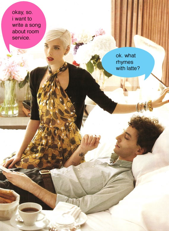 Agyness Deyn & Boyfrynd Frolyc In Vogue