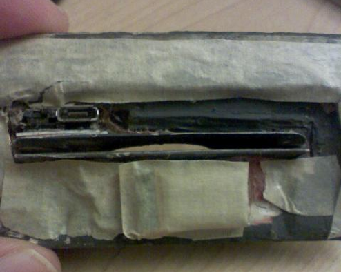 A Man Finds an Actual Card Skimmer in the Wild, in the Flesh