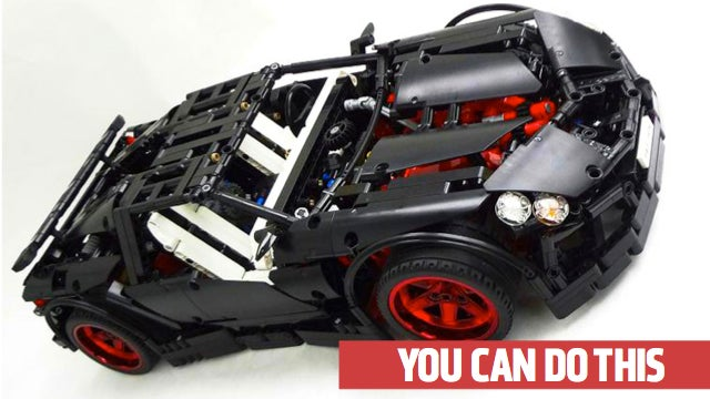 how to build things with lego technics