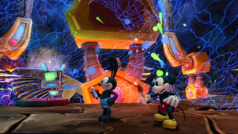 Whew, Epic Mickey 2 Gets Its Co-Op and Camera Right