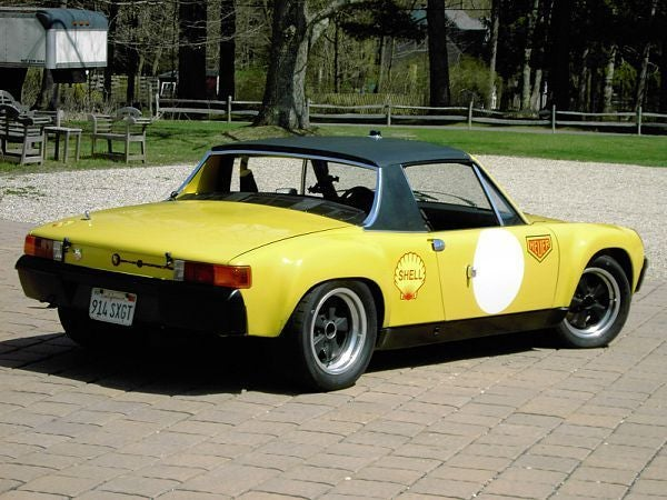 Nice Price Or Crack Pipe: Factory Racer Porsche 914-6 For $325,000?