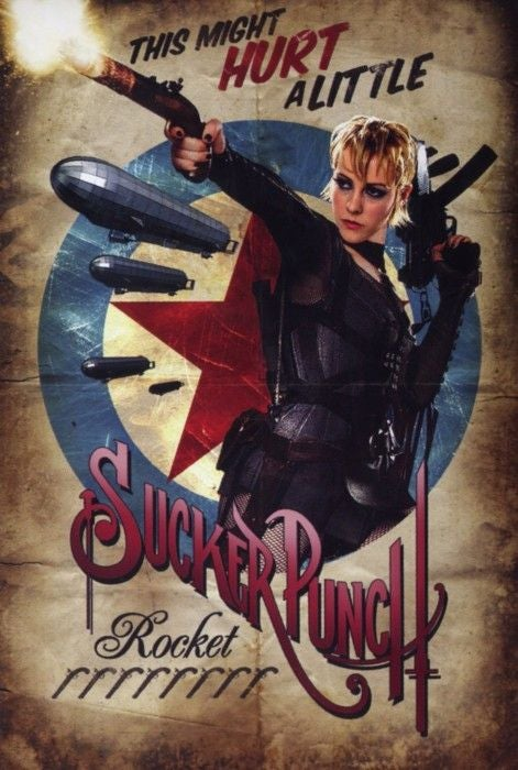 Sucker Punch retro character posters