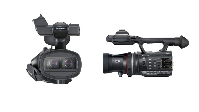 Panasonic's New Video Cam Shoots (And Shows) HD 3D sans Glasses