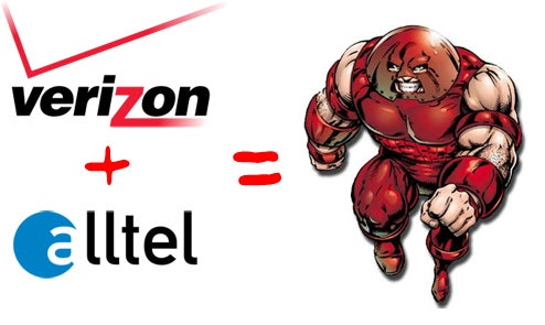 Official: Verizon Wireless Absorbing Alltel to Become Largest US Carrier